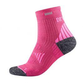 Ponožky Devold Energy Ankle woman sock Velikost ponožek: 38-40 / Barva: růžová