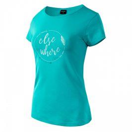 Dámské triko Hi-Tec Lady Elsea Velikost: S / Barva: modrá/bíla
