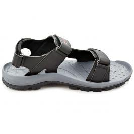 Pánské sandály Hi-Tec Lubiser Velikost bot (EU): 42 / Barva: černá/šedá