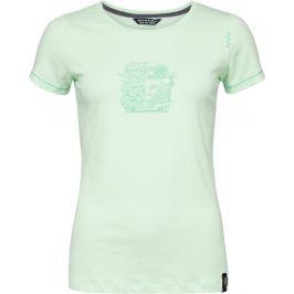 Dámské triko Chillaz Gandia Lettering Bus Velikost: XS / Barva: světle zelená