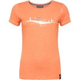 Dámské triko Chillaz Gandia Feel The Spirit I Velikost: XS / Barva: oranžová