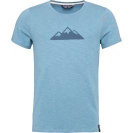 Pánské triko Chillaz Tyrol Mountain Velikost: S / Barva: modrá