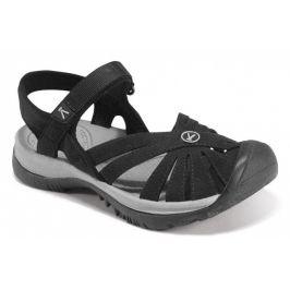 Dámské sandály Keen Rose Sandal W Velikost bot: 40 (9,5) / Barva: black/neutral gray