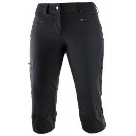 Dámské 3/4 kalhoty Salomon Wayfarer Capri W Velikost: S (vel. 36) / Barva: černá