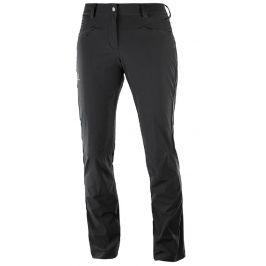 Dámské kalhoty Salomon Wayfarer Straight LT Pant W Velikost: S (36) / Délka kalhot: regular / Barva: černá