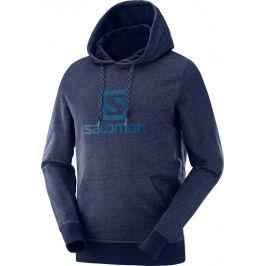 Pánská mikina Salomon Logo Hoodie M Velikost: M / Barva: modrá