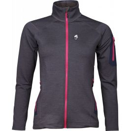 Mikina High Point Woolion Merino Lady Sweatshirt Velikost: M / Barva: černá/růžová