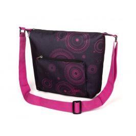Kabelka Loap Sonea Barva: černá/růžová
