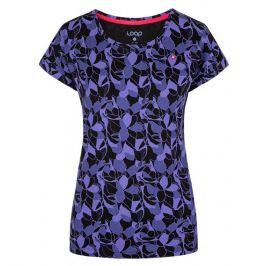 Dámské triko Loap Babett Velikost: XS / Barva: černá/modrá
