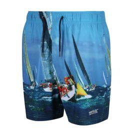 Pánské plavky Regatta Mawson SwShort II Velikost: XL / Barva: modrá