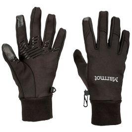 Dámské rukavice Marmot Wm's Connect Glove Velikost rukavic: L / Barva: černá