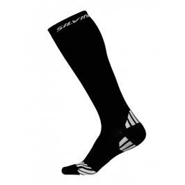 Kompresní ponožky Silvini Casalone UA562 Velikost ponožek: 39-41 / Barva: černá