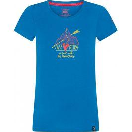 Dámské triko La Sportiva Alakay T-Shirt W Velikost: L / Barva: modrá