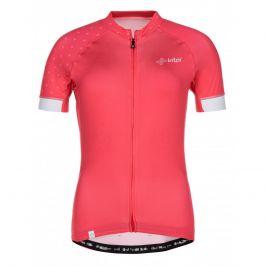 Dámský cyklistický dres Kilpi Wild-W Velikost: XXL / Barva: růžová