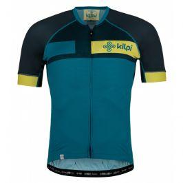 Pánský cyklistický dres Kilpi Treviso-M Velikost: L / Barva: modrá