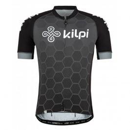 Pánský cyklistický dres Kilpi Motta-M Velikost: M / Barva: černá