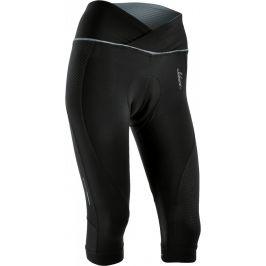 Dámské cyklo 3/4 kalhoty Silvini Tinella WP1010 Velikost: S / Barva: černá