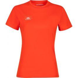 Dámské triko Mammut Seile T-Shirt Women Velikost: S / Barva: oranžová