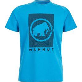 Pánské triko Mammut Trovat T-Shirt Men Velikost: M / Barva: modrá