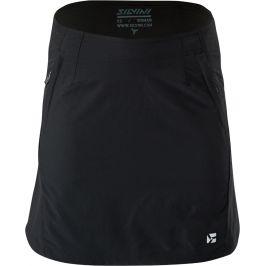 Dámská cyklistická sukně Silvini Invio WS1624 Velikost: XS / Barva: černá