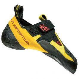 Lezečky La Sportiva Skwama Velikost bot (EU): 38 / Barva: černá/žlutá