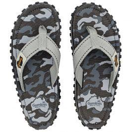 Žabky Gumbies Islander Grey Camouflage Velikost bot (EU): 41 / Barva: šedá