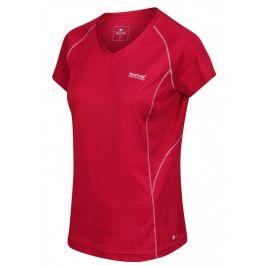 Dámské triko Regatta Devote Velikost: XS / Barva: červená