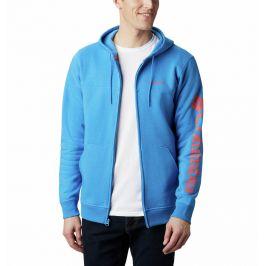 Pánská mikina Columbia Logo Fleece FZ Velikost: M / Barva: modrá