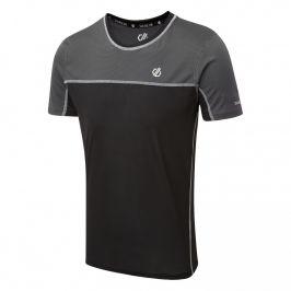 Pánské triko Dare 2b Notable Tee Velikost: M / Barva: černá
