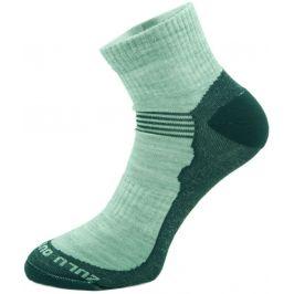 Ponožky Zulu Merino Lite Man 3 pack Velikost ponožek: 35-38 / Barva: šedá
