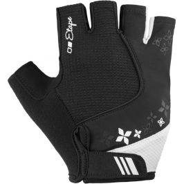 Dámské rukavice Etape Ambra Velikost rukavic: S / Barva: černá/bílá