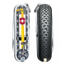 Kapesní nůž Victorinox Classic LE Bike Ride Barva: černá/žlutá