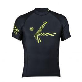 Pánské triko Hiko Shade Plush kr. r. Velikost: S / Barva: černá