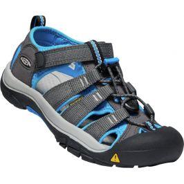 Juniorské sandály Keen Newport H2 JR Dětské velikosti bot: 39 / Barva: šedá/modrá