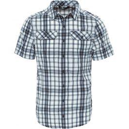 Pánská košile The North Face S/S Pine Knot Velikost: M / Barva: šedá