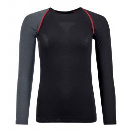 Dámské triko Ortovox 120 Competition Light Long Sleeve W Velikost: M / Barva: černá