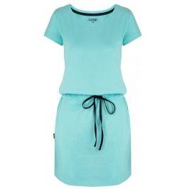 Šaty Loap Banny Velikost: M / Barva: světle modrá