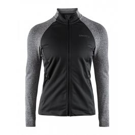 Dámská bunda Craft Urban Fuseknit Velikost: XS / Barva: černá/šedá