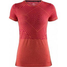 Dámské funkční triko Craft Cool Comfort SS Velikost: XS / Barva: červená