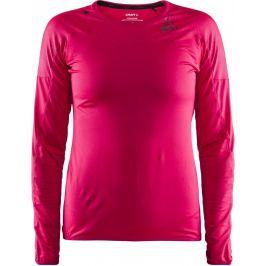 Dámské funkční triko Craft Shade LS Velikost: XS / Barva: růžová