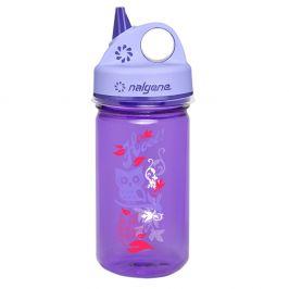 Dětská láhev Nalgene Grip 'n Gulp Barva: fialová