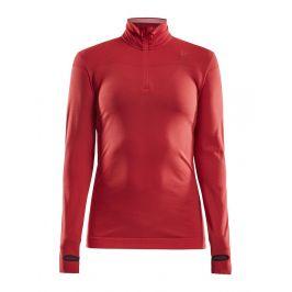 Dámské triko Craft Fuseknit Comfort Zip Velikost: XS / Barva: červená