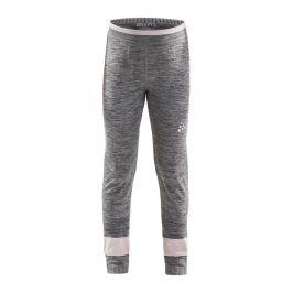 Dětské spodky Craft Fuseknit Comfort Dětská velikost: 122-128 / Barva: šedá