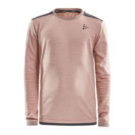 Dětské triko Craft Fuseknit Comfort Dětská velikost: 122-128 / Barva: růžová