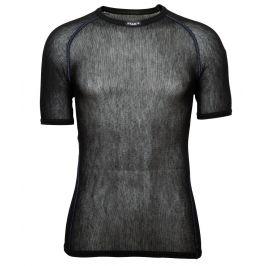 Brynje of Norway Pánské funkční triko Brynje Wool Thermo light T-shirt Velikost: XL / Barva: černá