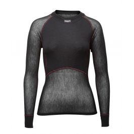 Brynje of Norway Dámské funkční triko Brynje Lady Wool Thermo light Shirt Velikost: L / Barva: černá