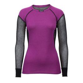 Brynje of Norway Dámské funkční triko Brynje Lady Wool Thermo Shirt Velikost: M / Barva: fialová
