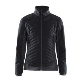 Dámská bunda Craft Storm Thermal Velikost: XS / Barva: černá/šedá