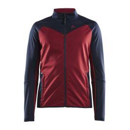 Pánská bunda Craft Glide Velikost: M / Barva: červená/modrá