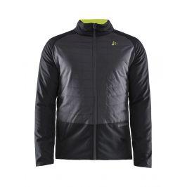 Pánská bunda Craft Storm Thermal Velikost: M / Barva: černá/šedá